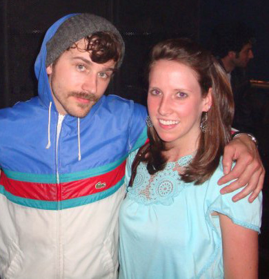 John Gourley and I in 2010 after a show in Pittsburgh